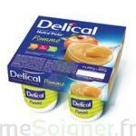 DELICAL NUTRA'POTE DESSERT AUX FRUITS, 200 g x 4 à Libourne