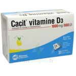 CACIT VITAMINE D3 1000 mg/880 UI, granulés effervescents pour solution buvable en sachet à Libourne