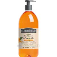 Savon De Marseille Mandarine-sauge 1l Comptoir Du Bain à Libourne