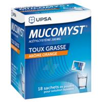 Mucomyst 200 Mg Poudre Pour Solution Buvable En Sachet B/18 à Libourne