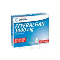 Efferalgan 1000 Mg Comprimés Pelliculés Plq/8 à Libourne