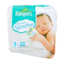 PAMPERS COUCHES NEW BABY SENSITIVE TAILLE 1 2-5 KG x 23 à Libourne