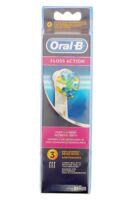 Brossette De Rechange Oral-b Floss Action X 3 à Libourne