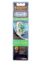 Brossette De Rechange Oral-b Dual Clean X 3 à Libourne