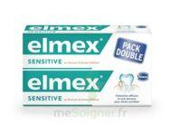 ELMEX SENSITIVE DENTIFRICE, tube 75 ml, pack 2 à Libourne