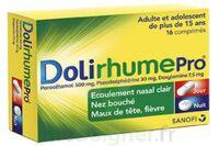 DOLIRHUMEPRO PARACETAMOL, PSEUDOEPHEDRINE ET DOXYLAMINE, comprimé à Libourne
