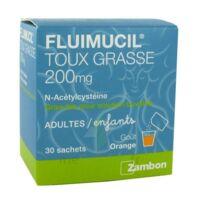 Fluimucil Expectorant Acetylcysteine 200 Mg Sans Sucre, Granulés Pour Solution Buvable En Sachet édulcorés à L'aspartam Et Au Sorbitol à Libourne