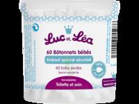 Bâtonnets ouatés embout bébé sécurisé (boîte de 60) à Libourne