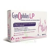 Gynophilus LP Probiotiques 6 comprimés vaginaux à Libourne