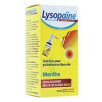 LysopaÏne Ambroxol 17,86 Mg/ml Solution Pour Pulvérisation Buccale Maux De Gorge Sans Sucre Menthe Fl/20ml à Libourne