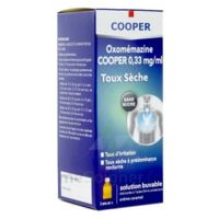 OXOMEMAZINE H3 SANTE 0,33 mg/ml SANS SUCRE, solution buvable édulcorée à l'acésulfame potassique à Libourne