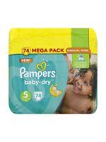 Pampers Baby Dry T5 - 11-23kg Megapack à Libourne