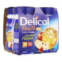 DELICAL BOISSON FRUITEE Nutriment pomme 4Bouteilles/200ml à Libourne