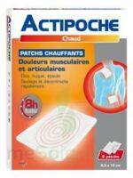 Actipoche Patch chauffant douleurs musculaires B/2 à Libourne