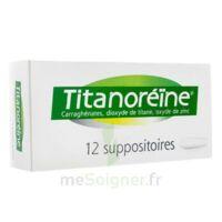 Titanoreine Suppositoires B/12 à Libourne