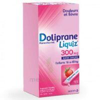 Dolipraneliquiz 300 Mg Suspension Buvable En Sachet Sans Sucre édulcorée Au Maltitol Liquide Et Au Sorbitol B/12 à Libourne