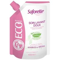 Saforelle Solution Soin Lavant Doux Eco-recharge/400ml à Libourne