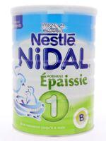 NIDAL LAIT 1 FORMULE EPAISSIE 800G à Libourne
